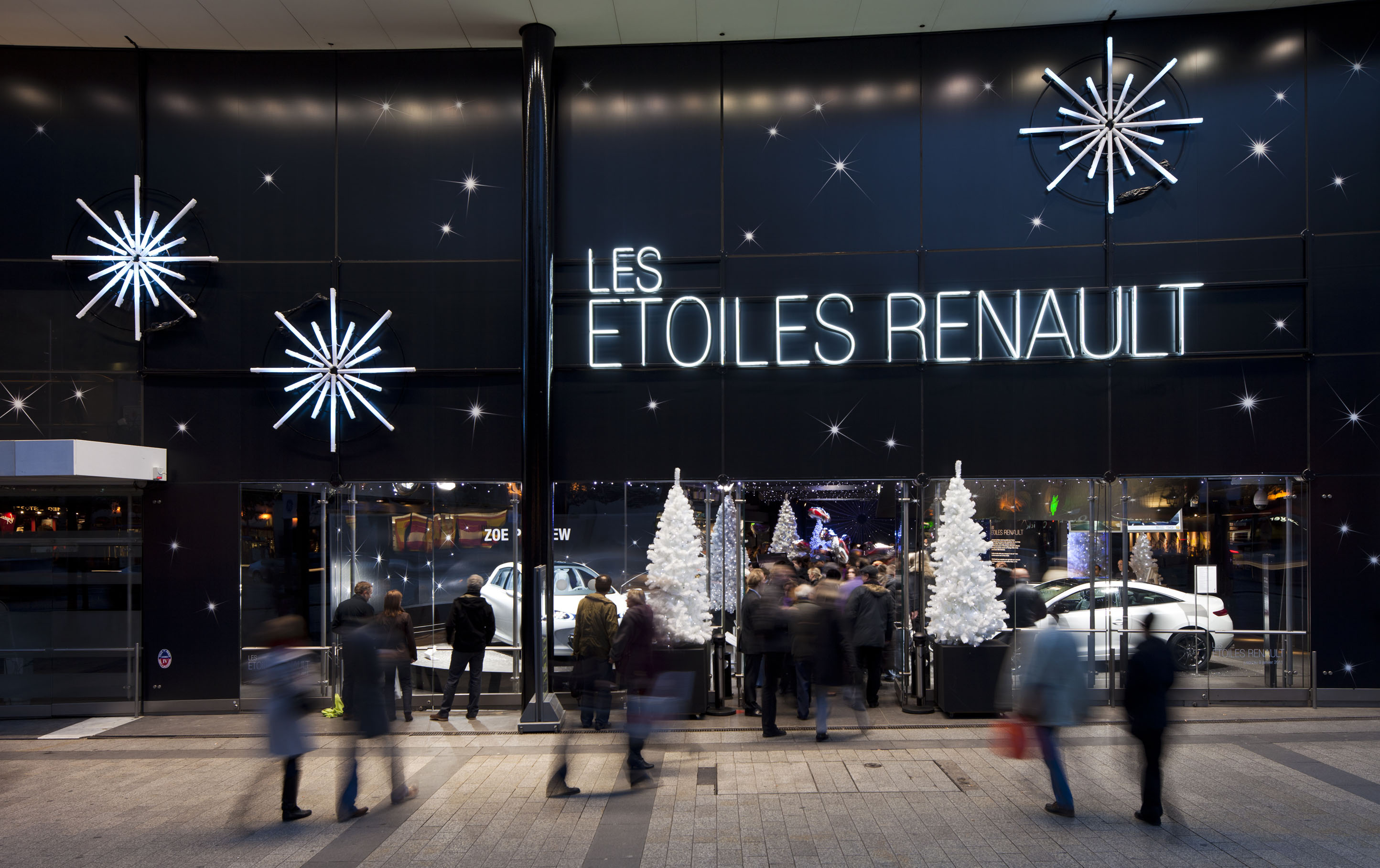 Atleier Renault - Les Etoiles
