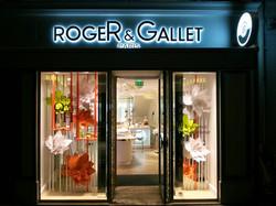 Roger&Gallet- les vitrines