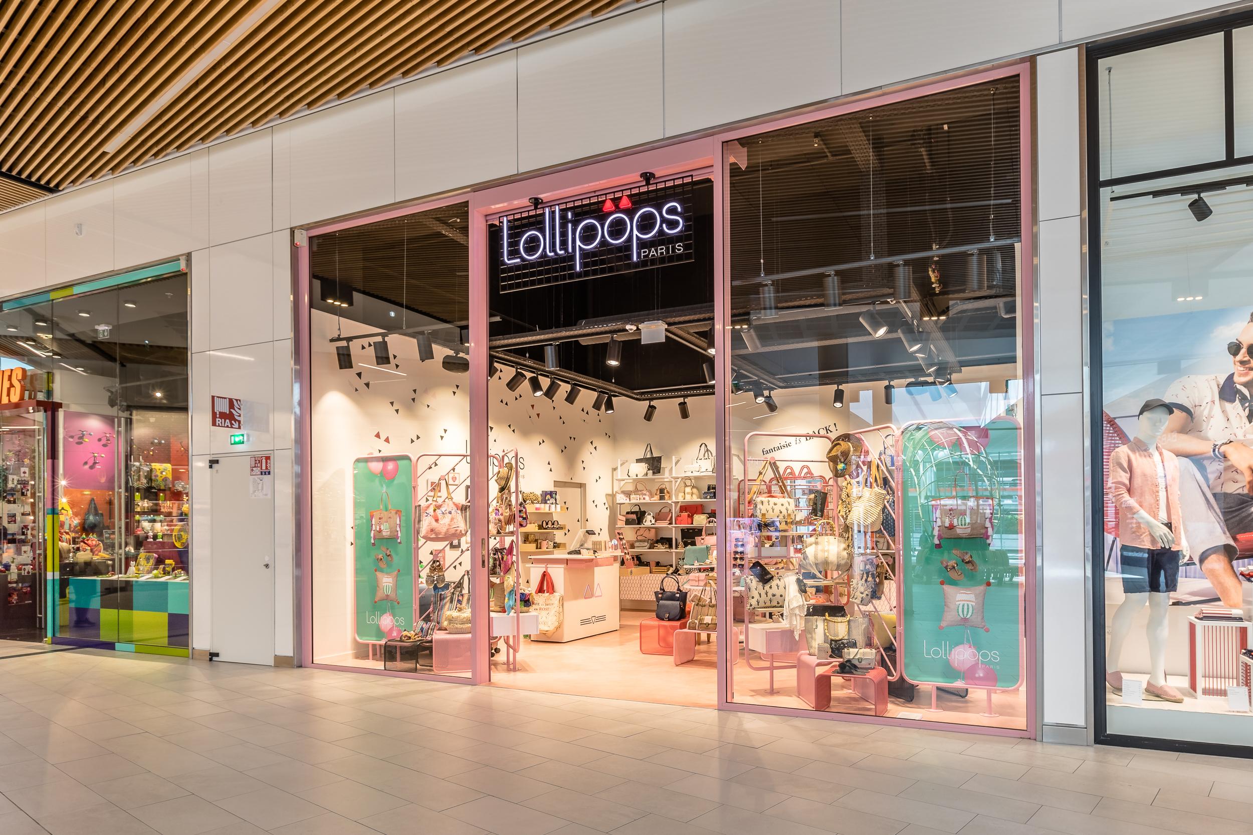 Lollipops-concept retail