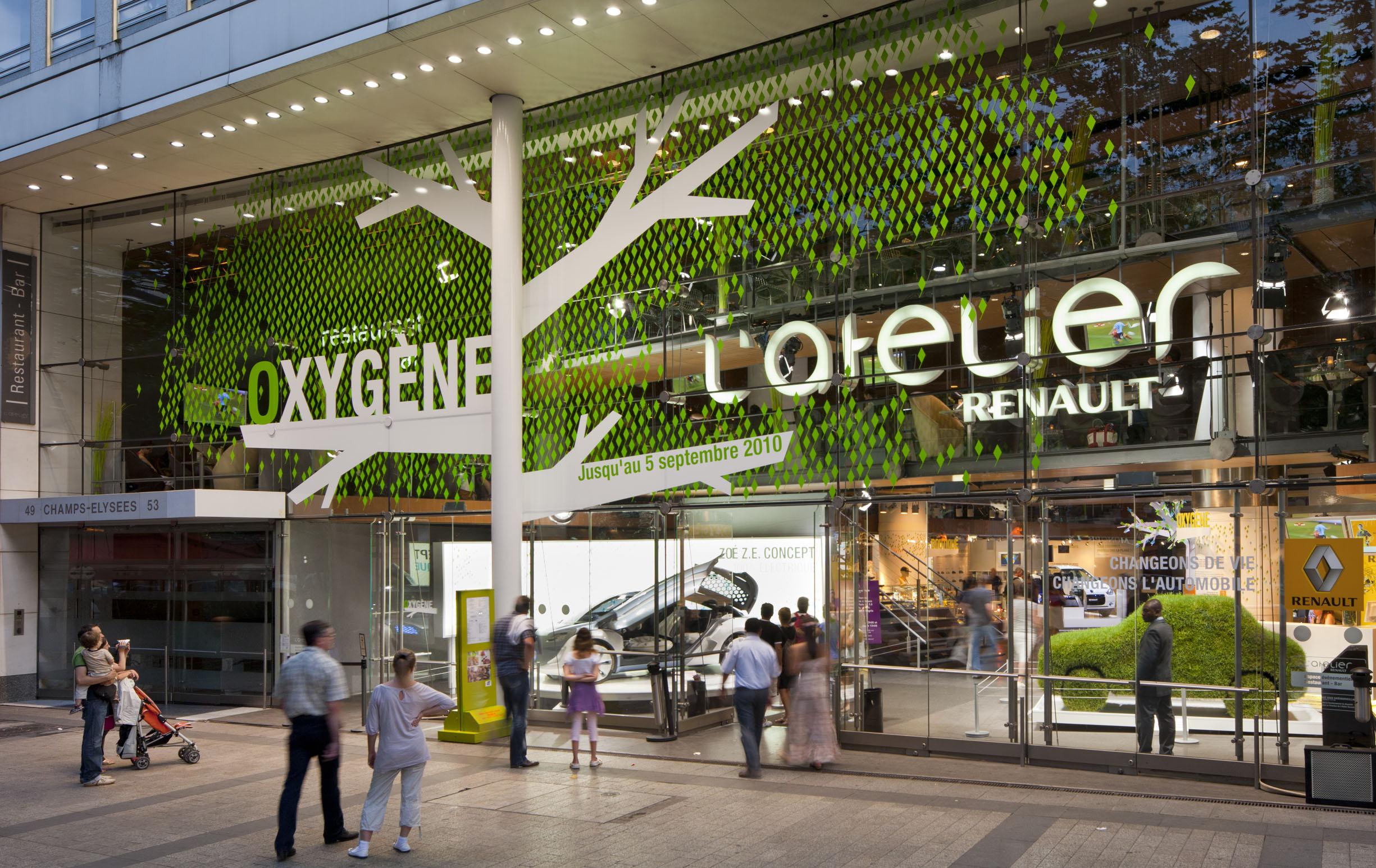Atelier Renault - Oxygene