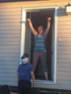 Picture of a happy Modular Home customer in Alberta