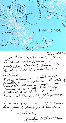M&K Home Sales Testimonial from a happy Modular Home customer in Alberta