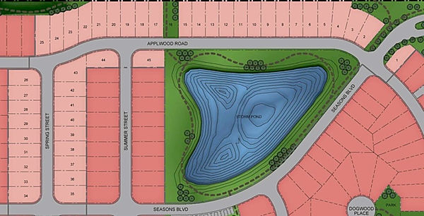 The Seasons Park in Coaldale, Alberta - Phase One. M&K can provide modular and manufactured homes for this park.