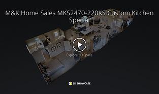 3D Tour of a M&K Modular Home in Alberta