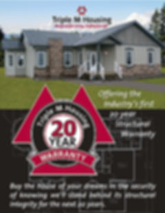 M&K Home Sales sells quality Triple M Modular RTM Homes with 20 year warranty. Locations in Lethbridge and Red Deer, Alberta