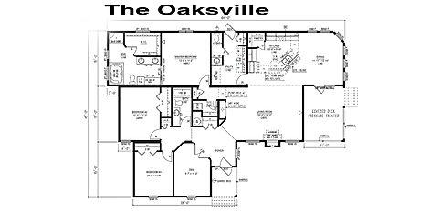 Floorplan of an M&K Homes Triple M Modular home in Alberta