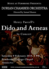 Dido and Aenas Poster