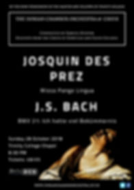 Josquin and Bach Poster