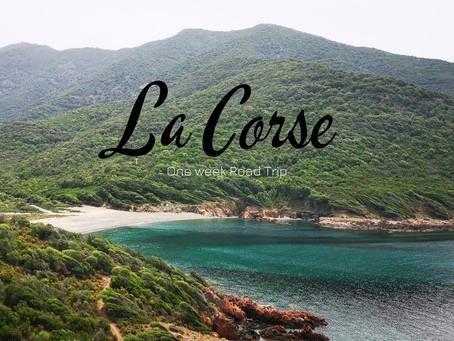 France - A la découverte des plus belles plages de Corse.