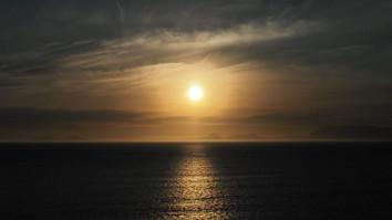 Couché de soleil en Isrël