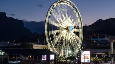 Grande roue en Afrique du Sud