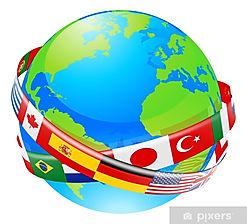 papiers-peints-un-globe-terrestre-avec-d