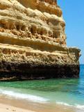 Praia Marinha au Portugal