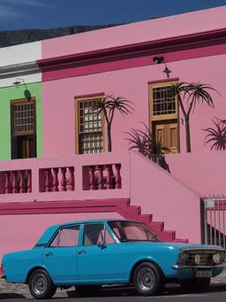 Rue de Cape Town en Afrique du Sud