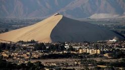 Montagne de sable au Pérou