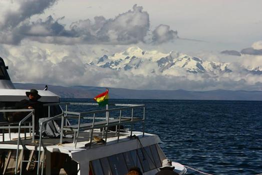 Montagnes eneigées au Pérou