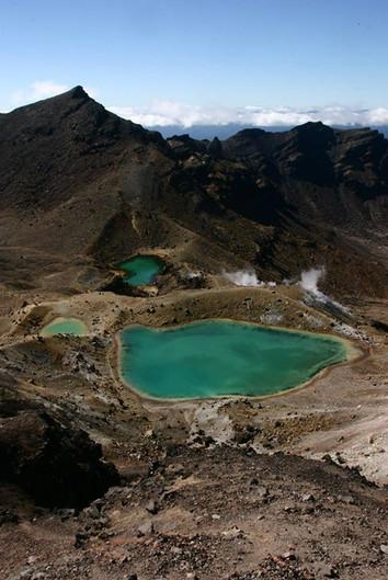Volcan en Nouvelle-Zélande