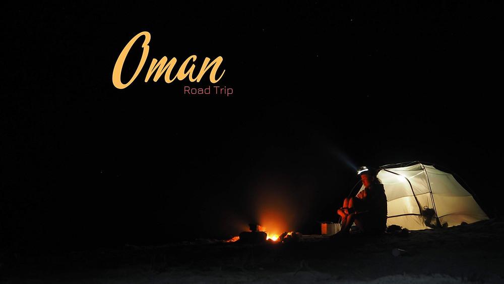 Voyage sous forme de road-trip à Oman. Et dormir sous la tente à #Oman. Les voyageurs appreciation.