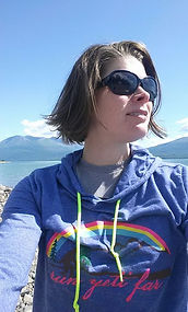 Me at Lake Clark, Ak