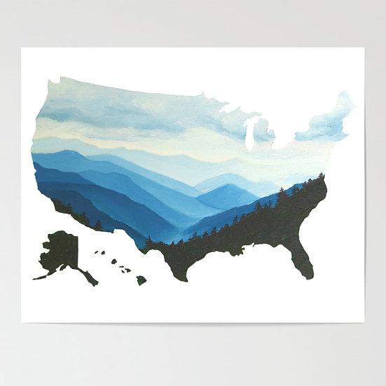 BlueRidge Mountains, TN