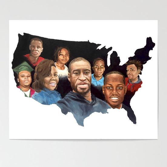 Black Lives Matter Print