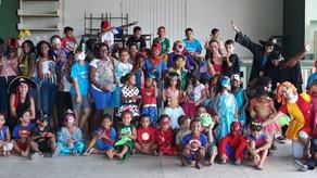 Carnaval com direito a bloco e tudo mais!