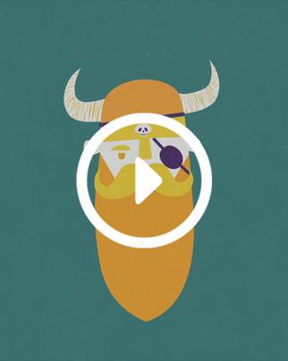 Viking and the Bird