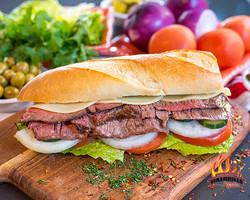 $10.75 Flank Steak sandwich