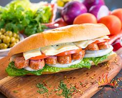 $7.95 Pork Sausage sandwich