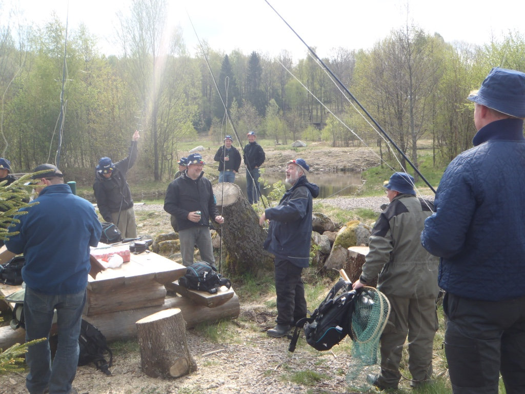 Fiskepaket grupp - med övernattning