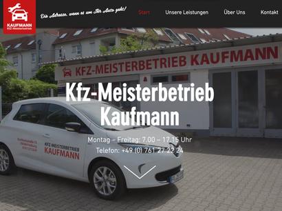 Relaunch Kfz-Meisterbetrieb Kaufmann