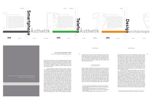 Design einer wissenschaftlichen Buchreihe