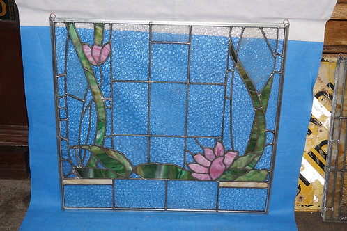 Early 1930s Stained Glass Window