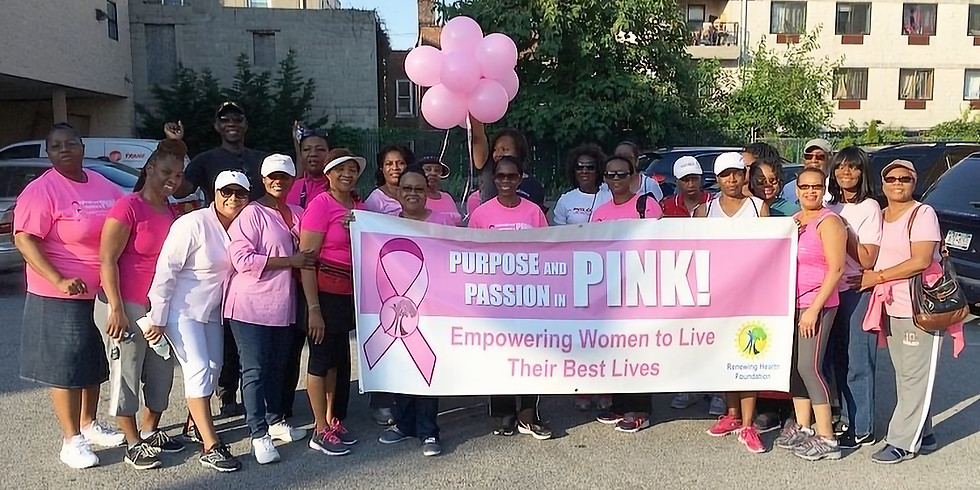 Purpose and Passion in Pink! Breast Cancer Walk