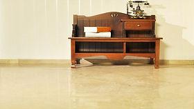 Marmor golvet