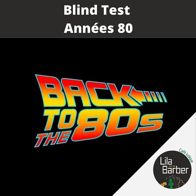 Blind Test : années 80
