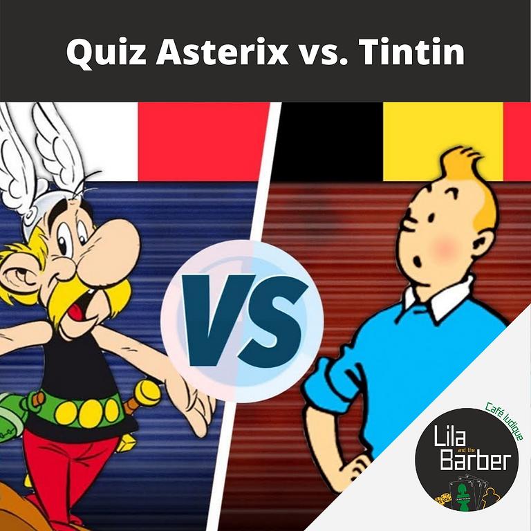 Quiz Astérix vs. Tintin