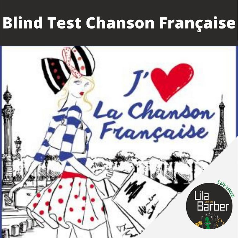 Blind Test : Chanson Française
