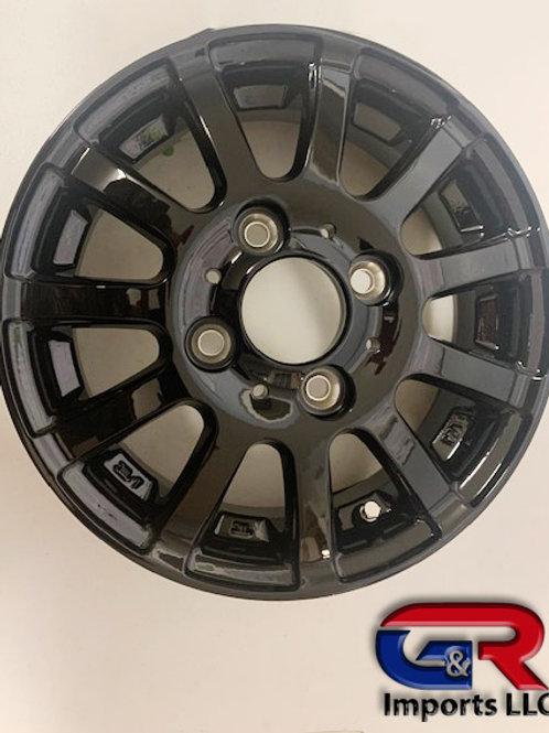 [4 x 100] Gloss Black Wheel