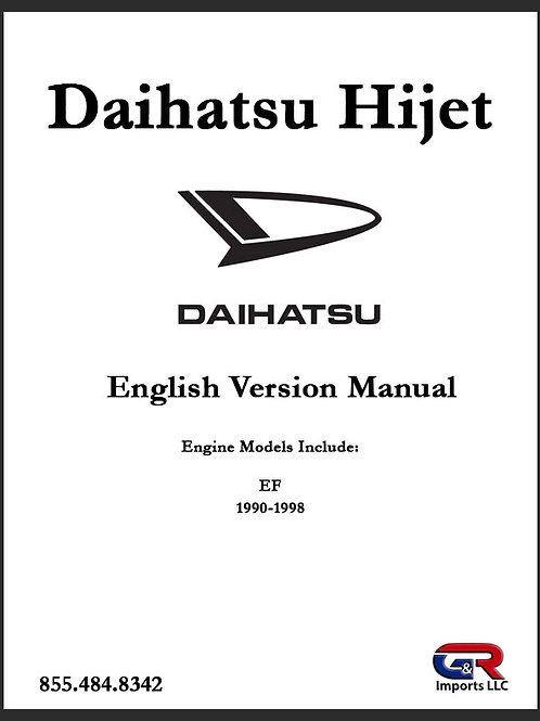 Daihatsu Manual