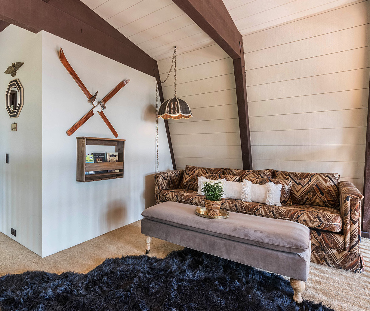 Lake Tahoe/Truckee Living Room Design by Tinsel House