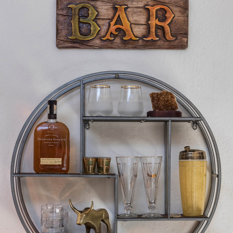 Do Virtual Cocktails Right - A Home Bar Design Tutorial