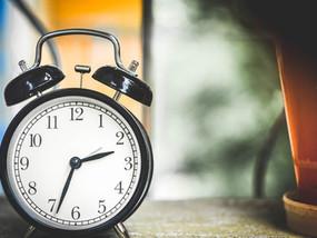 Tu es toujours à l'heure !