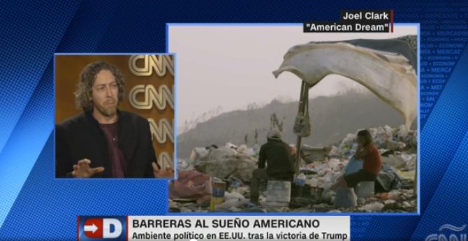 CNN interview with Joel N Clark