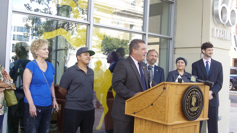 Art grant awarded by City of Yonkers Mayor Mike Spano