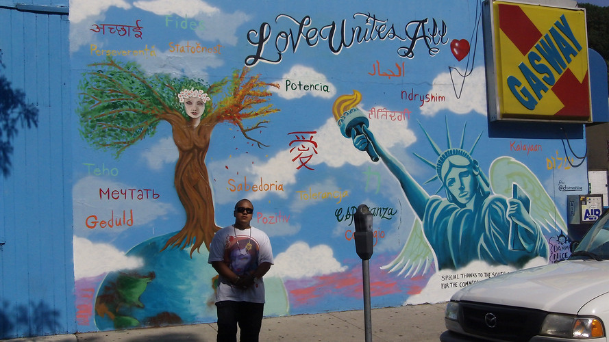 Mural at South Broadway Yonkers.