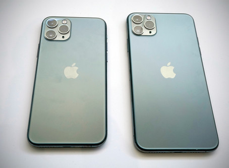 iPhone 11 Pro - THREE CAMERAS!