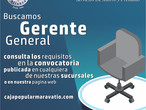 Convocatoria Para la Contratación del Gerente General