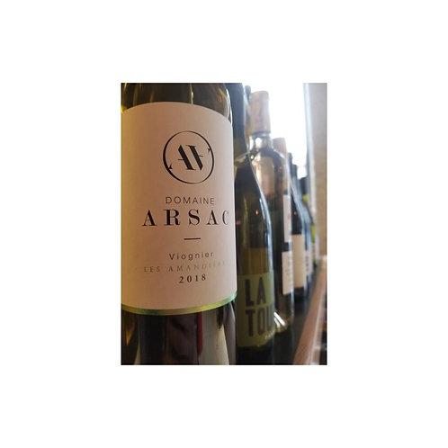Les amandières - Domaine Arsac - Vin d'Ardèche Bio