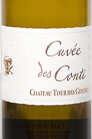 Cuvée des Conti - Château Tour des Gendres - AOP Bergerac